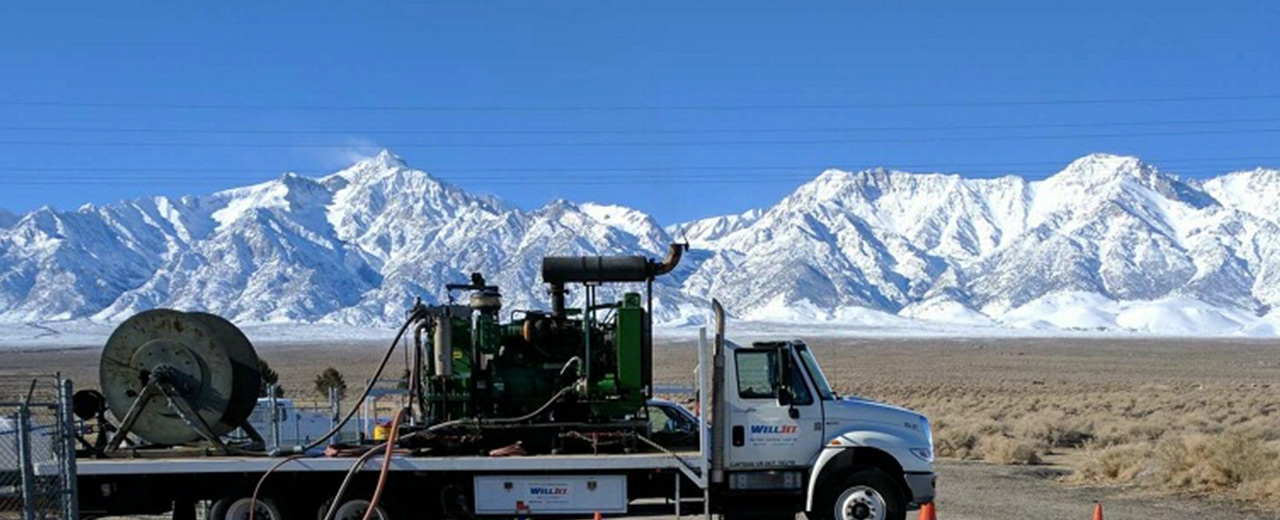 photo of welljet equipment Owens Valley