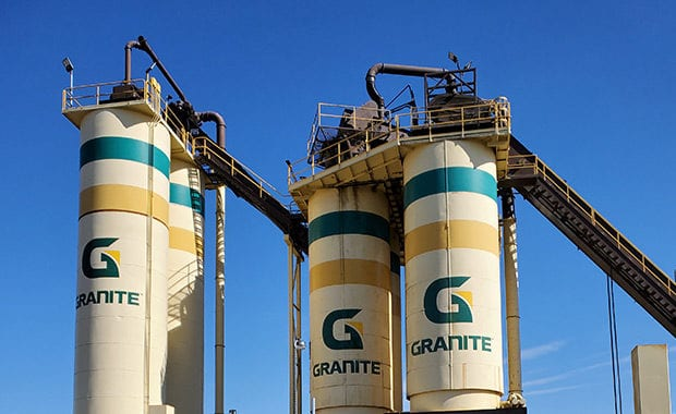 photo of Asphalt Plant Silos, Sacramento, CA, DrumJet hydrojetting project